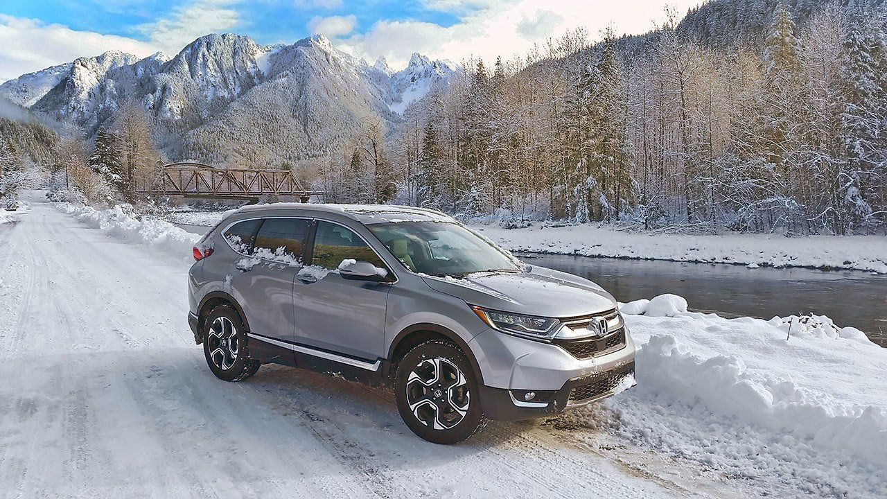 The 2017 Honda CR-V Touring AWD in Index. It handled beautifully in ...